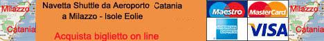 Navetta Shuttle da Catania a Miladdo da Palermo a Milazzo da Trapani a Milazzo