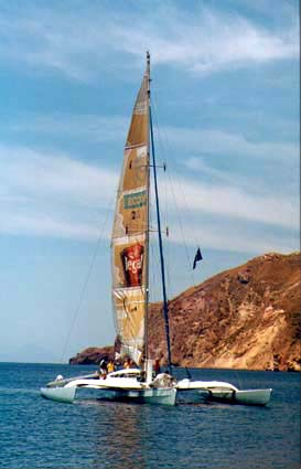 Trimaran Rebel In Lipari