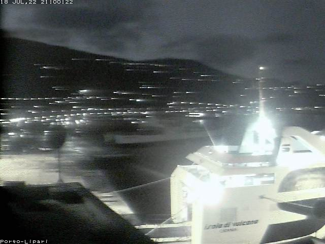 Vues webcam en direct sur le port de Sottomonastero - Lipari